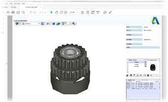3D PDF Exported from Autodesk Inventor