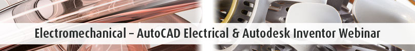 Electromechanical AutoCAD Electrical Autodesk Inventor