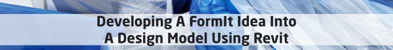 formit idea revit model workflow