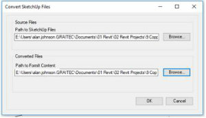 How To Insert SketchUp Into Revit Using FormIt 4