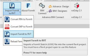 How To Insert SketchUp Into Revit Using FormIt 6