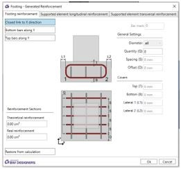 Reinforcing A Concrete Footing In Revit Using Graitec BIM Designers 5