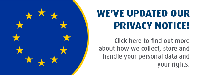 Privacy Notice Banner English