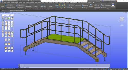 advance steel 2018 to autodesk fusion 360 model