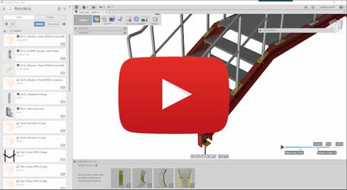 advance steel 2018 to autodesk fusion 360 video tutorial
