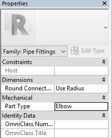 autodesk revit model ptraps pipes waste part elbow