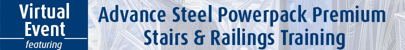 Advance Steel PowerPack Training Event Banner