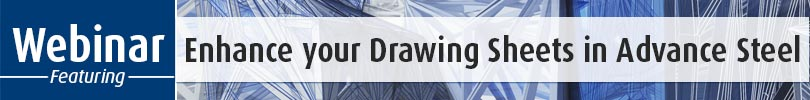 Enhance your Drawing Sheets in Advance Steel