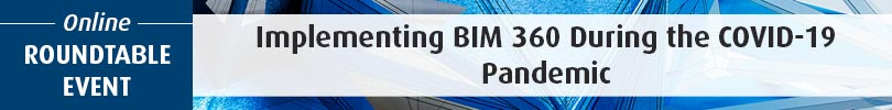 Web Banner Implementing BIM 360 During the Covid 19 Pandemic