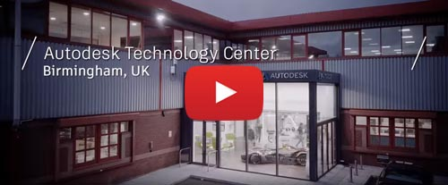 Autodesk CAD CAM technology Centre in Birmingham