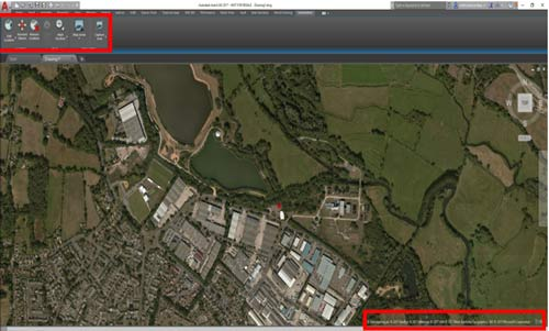 autocad lt free aerial mapping grid reference finder copyright