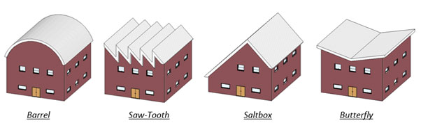 extruded roof types revit