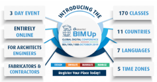 Architects, Engineers, Fabricators and Contractors – Join us for a Global Digital BIMUp Conference