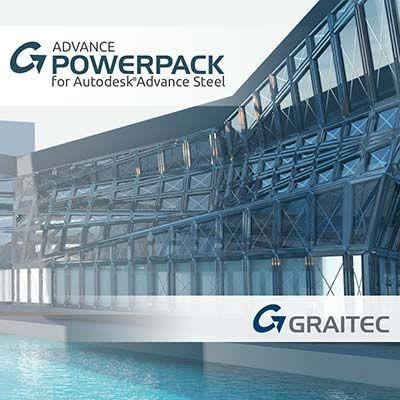 Graitec-PowerPack-for-Advance-Steel-2022.1-Release-badge
