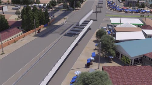 Mabey Bridge Flyover Animation Image 4