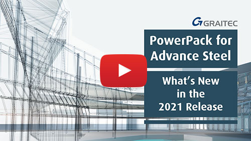 What´s new in Graitec PowerPack for Advance Steel