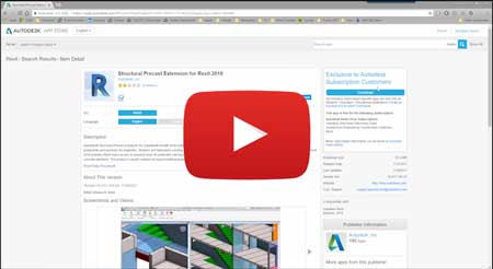 precast add on revit 2018 video how to install