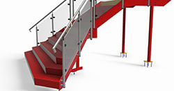 Software for Architectural Metalwork and Fabricators Stairs
