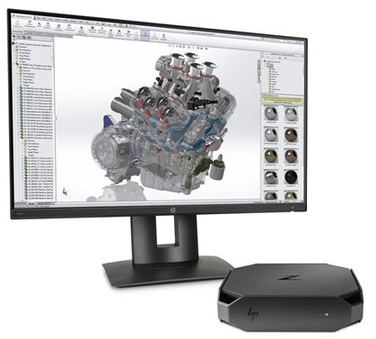 Z2 mini workstation CAD