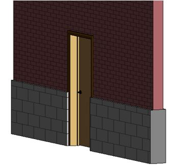 revit reposition door