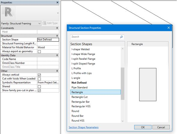 revit section shapes 6